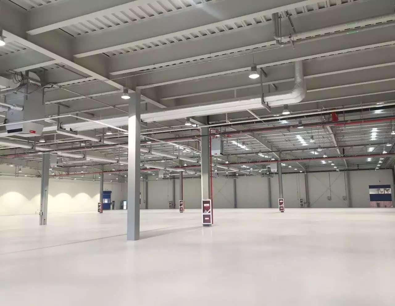 2015年11月德国thyssenkrupp蒂森克虏伯(常州)工厂项目顺利完工,交付